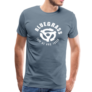 Men's Safe at any Speed T-Shirt - steel blue