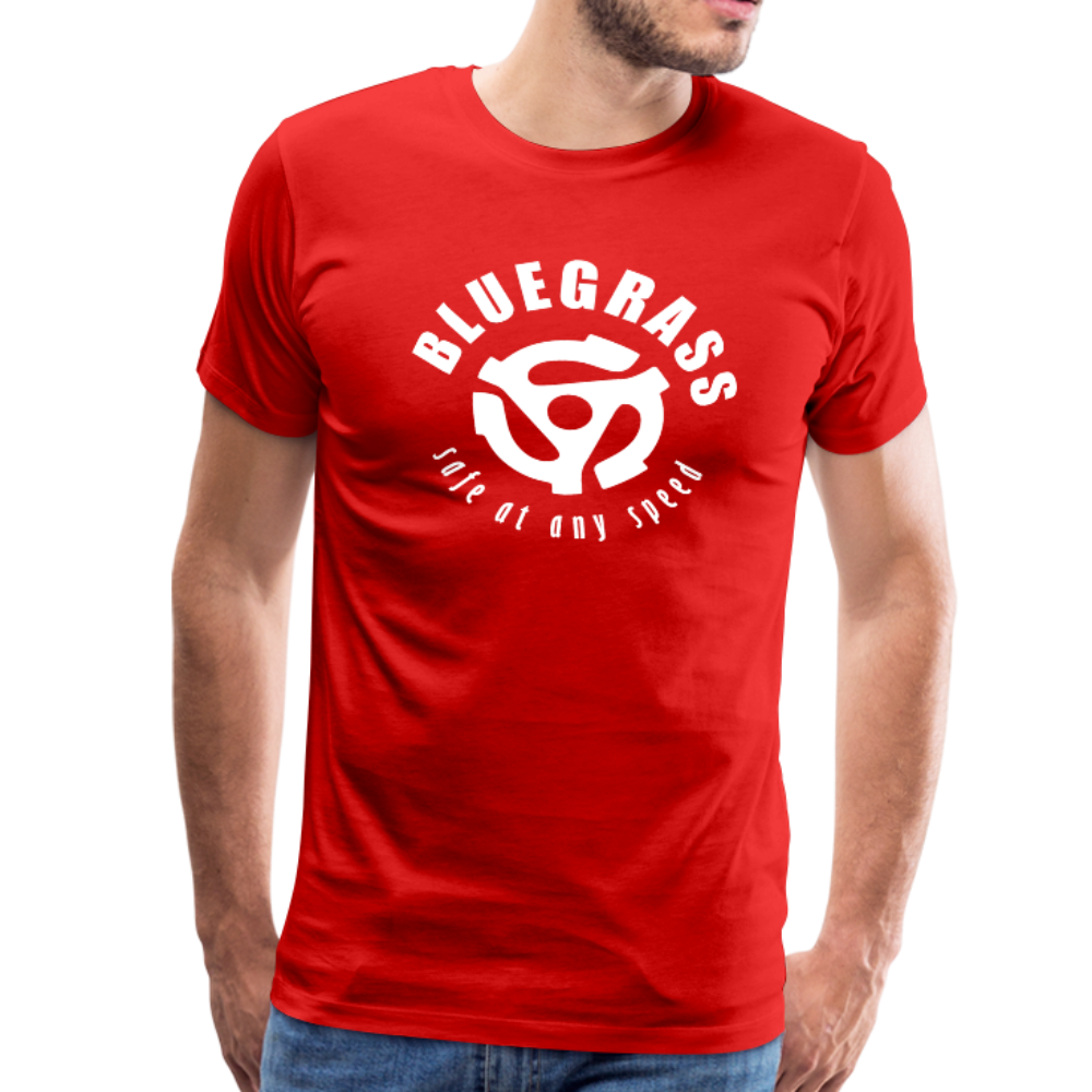 Men's Safe at any Speed T-Shirt - red