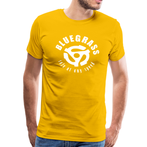 Men's Safe at any Speed T-Shirt - sun yellow