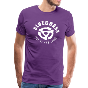 Men's Safe at any Speed T-Shirt - purple