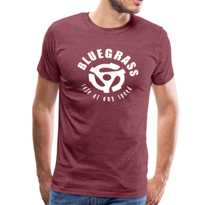 Men's Safe at any Speed T-Shirt - heather burgundy
