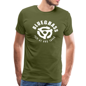 Men's Safe at any Speed T-Shirt - olive green