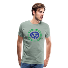 Load image into Gallery viewer, Men's 45 RPM Hero T-Shirt - steel green