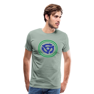 Men's 45 RPM Hero T-Shirt - steel green