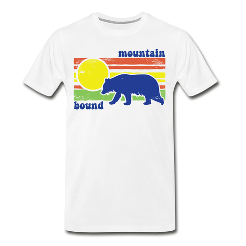 Men's Mountain Bound T-Shirt - white