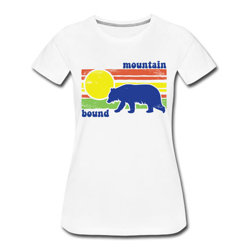 Women's Mountain Bound T-Shirt - white