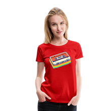 Load image into Gallery viewer, Women's My Bluegrass Mix I T-Shirt - red