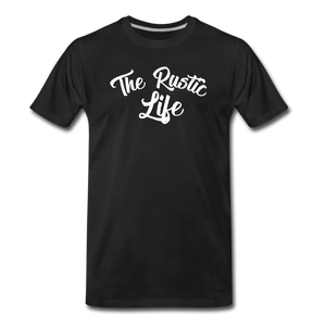 Men's The Rustic Life T-Shirt - black