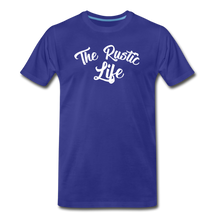 Load image into Gallery viewer, Men's The Rustic Life T-Shirt - royal blue