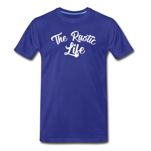 Men's The Rustic Life T-Shirt - royal blue