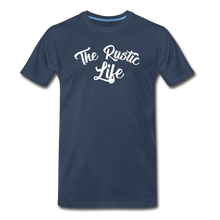 Load image into Gallery viewer, Men's The Rustic Life T-Shirt - navy