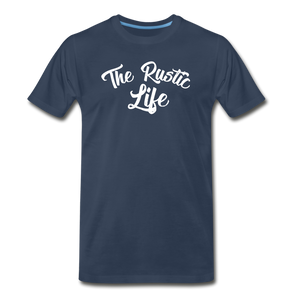 Men's The Rustic Life T-Shirt - navy