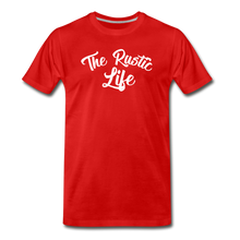 Load image into Gallery viewer, Men's The Rustic Life T-Shirt - red