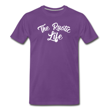 Load image into Gallery viewer, Men's The Rustic Life T-Shirt - purple
