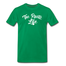 Load image into Gallery viewer, Men's The Rustic Life T-Shirt - kelly green