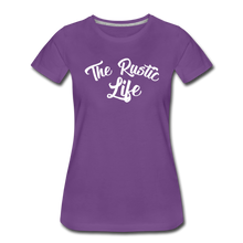 Load image into Gallery viewer, Women's The Rustic Life T-Shirt - purple