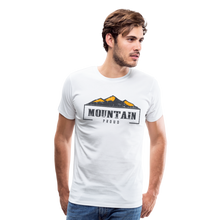Load image into Gallery viewer, Men's Mountain Proud T-Shirt - white
