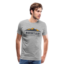 Load image into Gallery viewer, Men's Mountain Proud T-Shirt - heather gray