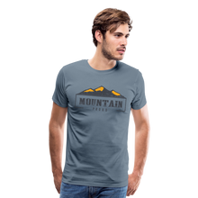 Load image into Gallery viewer, Men's Mountain Proud T-Shirt - steel blue