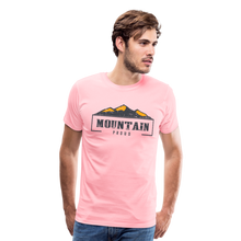 Load image into Gallery viewer, Men's Mountain Proud T-Shirt - pink