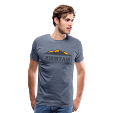 Load image into Gallery viewer, Men's Mountain Proud T-Shirt - heather blue