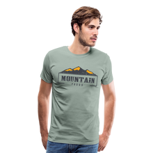 Load image into Gallery viewer, Men's Mountain Proud T-Shirt - steel green