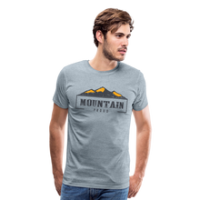Load image into Gallery viewer, Men's Mountain Proud T-Shirt - heather ice blue