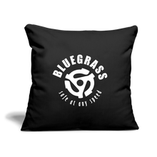 "Load image into Gallery viewer, Safe at any Speed Throw Pillow Cover 17.5"" x 17.5"" - black"