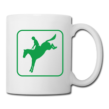 Load image into Gallery viewer, 3 Sided Horse Icon Coffee/Tea Mug - white