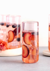 Juliette Cocktail Glasses - Pink
