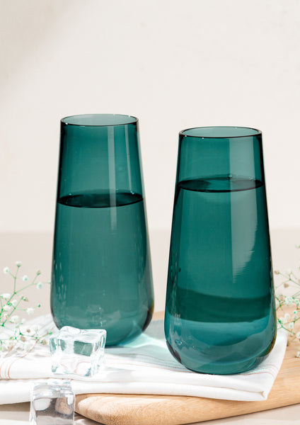Juliette Cocktail Glasses - Teal