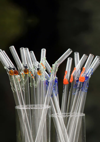 Glass straw glass forest