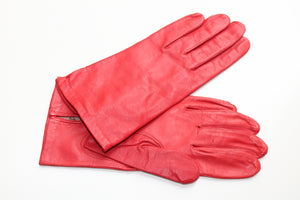 100% Silk Lined Leather Gloves
