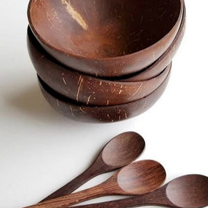 Eco-friendly Natural Coconut Bowls
