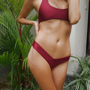 Sacred Fire Bikini Red