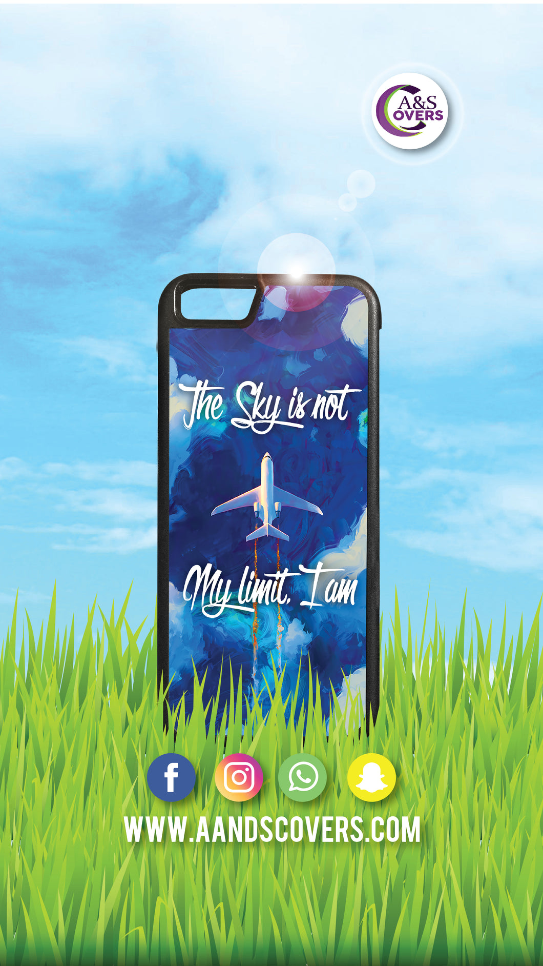 The sky is not my limit (wallpaper)