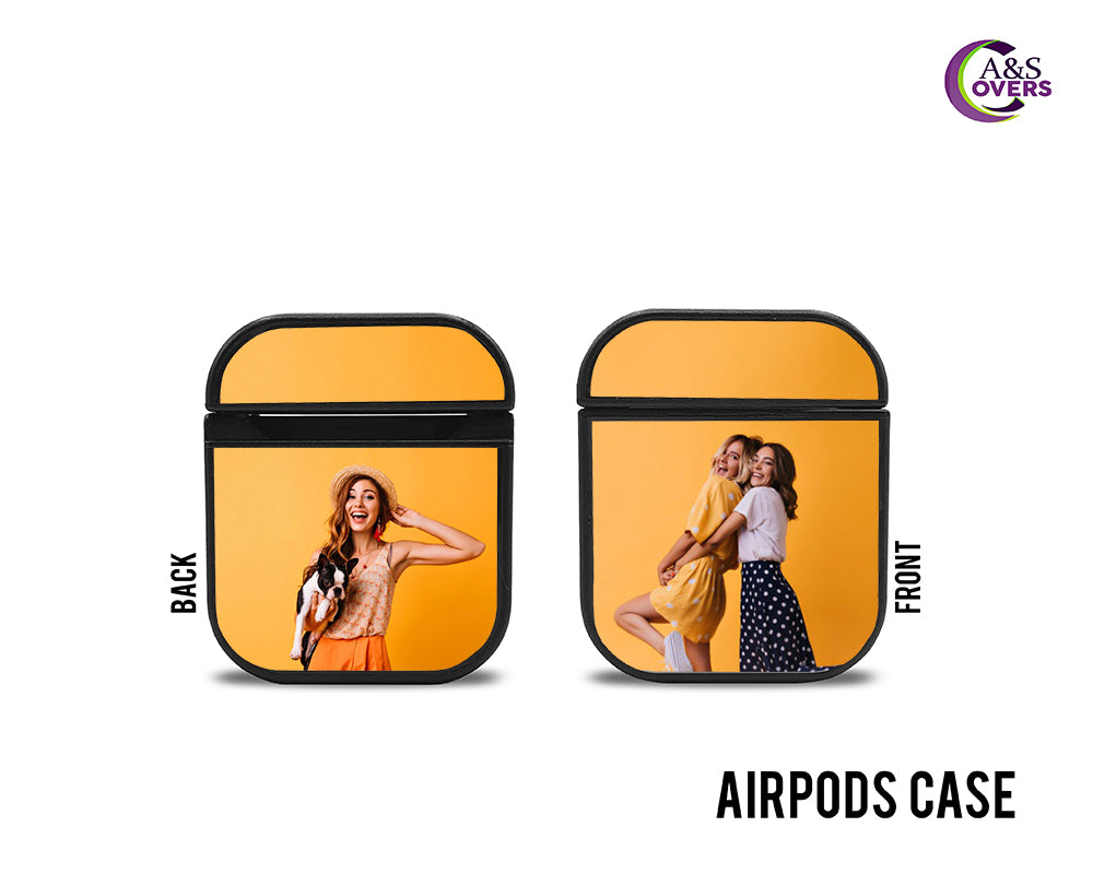 Black Custom Airpod Cases - A&S Covers