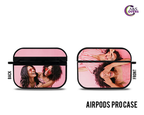 Black Custom Airpod Pro Cases - A&S Covers