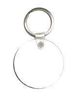 Load image into Gallery viewer, Custom round key chain