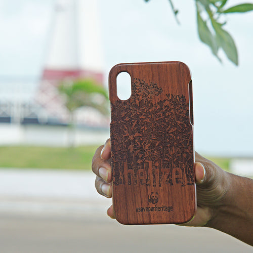 IPhone X (WWF Belize Saving our Shared Heritage design) - A&S Covers