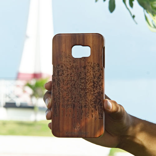 Samsung Galaxy S6 edge+ (WWF Belize Saving our Shared Heritage design) - A&S Covers