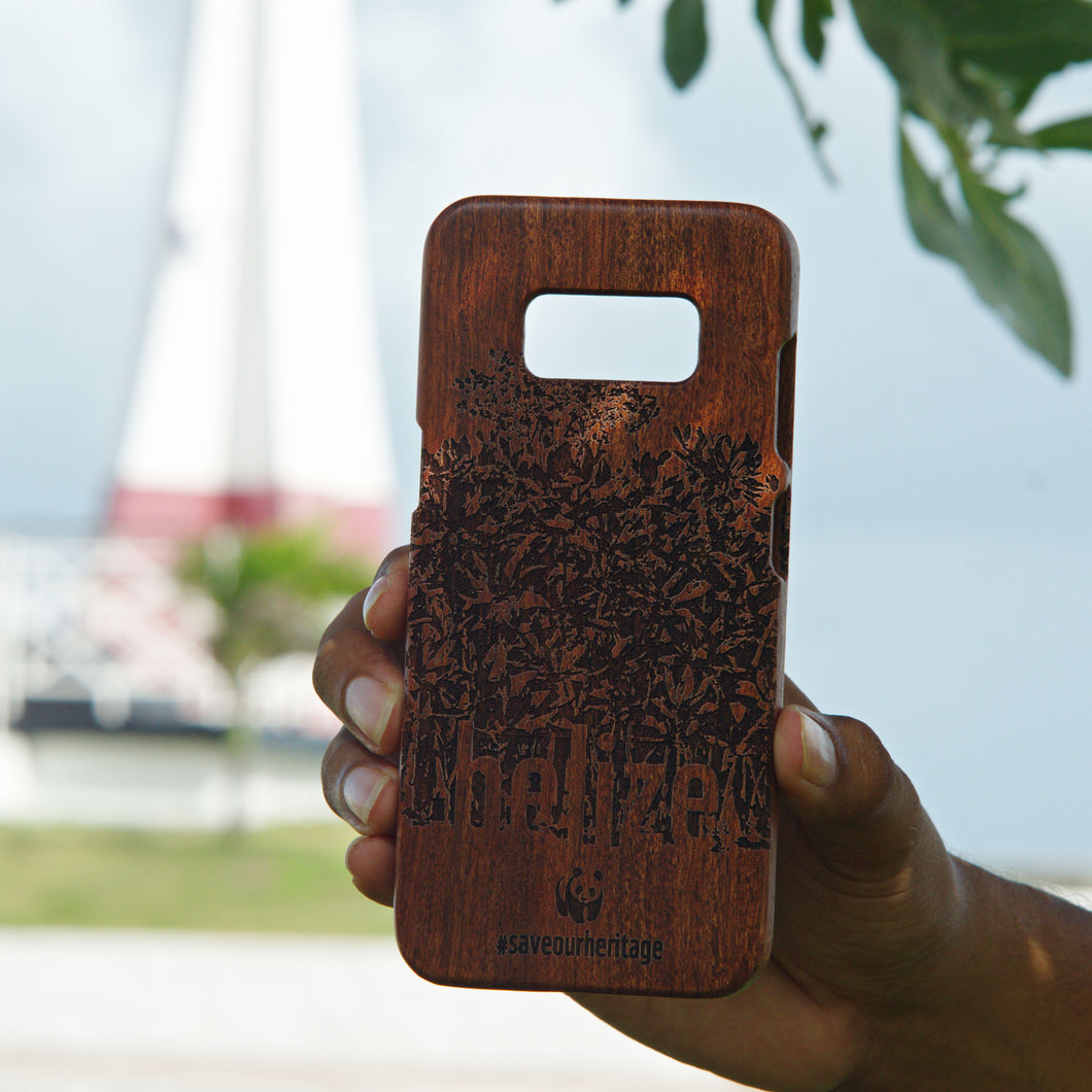 Samsung Galaxy S8+ (WWF Belize Saving our Shared Heritage design)