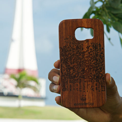 Samsung Galaxy S6 (WWF Belize Saving our Shared Heritage design) - A&S Covers