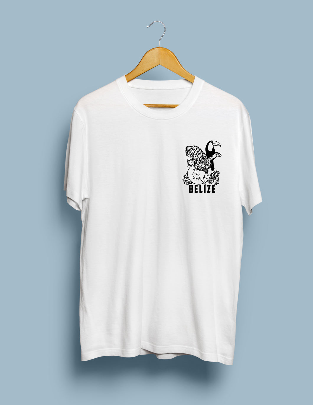 The Heart of Belize T shirt - A&S Covers