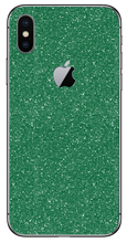 Load image into Gallery viewer, Glitter Green Skin/Wrap for iPhone - A&S Covers