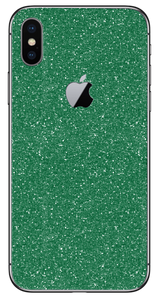 Glitter Green Skin/Wrap for iPhone - A&S Covers