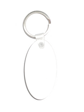 Load image into Gallery viewer, Oval Key chain