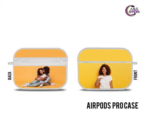 White Custom Airpod Pro Cases - A&S Covers