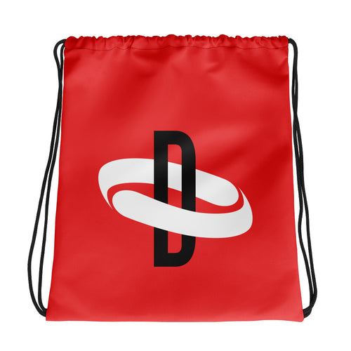 Drawstring Bag - Red
