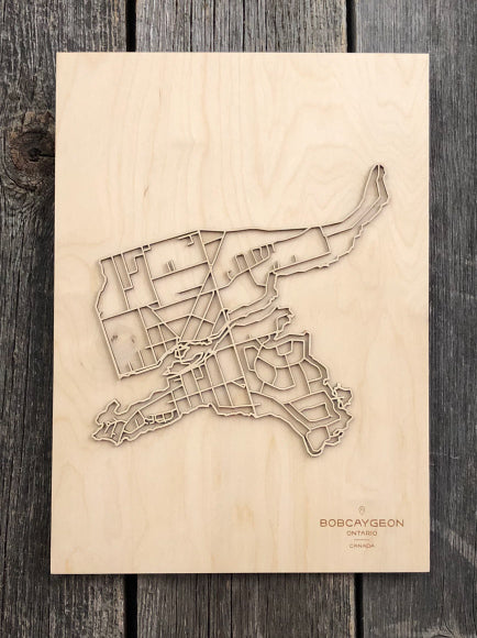 Bobcaygeon Street Map